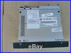 10-15 Volkswagen VW OEM Fender RNS-510 GPS Navigation Receiver Radio 3C0035684Q