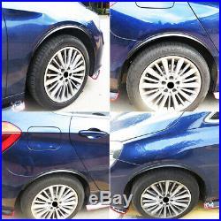 120Pc/30set Carbon Fiber Car Wheel Eyebrow Arch Trim Lip Fender Flare Protector