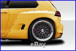 15-19 Volkswagen Golf TKO RBS Duraflex 70mm Rear Fender Flares! 115714