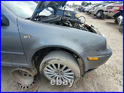 1999-2007 Volkswagen Golf Front Left Fender Platinum Gray Driver Side