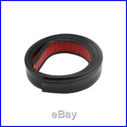 1Pair 150cm Car Fender Flare Extension Wheel Eyebrow Moulding Trim Protector Lip