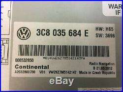 2010-2015 VW Jetta Passat OE Fender Premium Sound RNS-510 Navigation GPS Radio