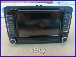 2010-2015 Volkswagen VW OEM Fender Premium RNS-510 GPS Navigation Receiver Radio