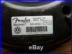 2015 VW Golf GTI Fender premium sound Subwoofer Bassman Speaker 5G0035621