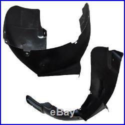 2PCS FOR VW Golf Jetta Front Left & Right Splash Shield Fender Liner Kit