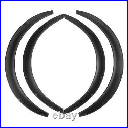 4Pcs Flexible Car Fender Flares Extra Wide Body Wheel Arches For VW Golf GTI R