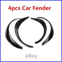 4Pcs Universal Flexible Car Fender Flares Extra Wide Body Wheel Arches