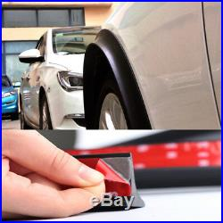 4X 1.5m Black Car Wheel Fender Extension Moulding Flares Trim Strip Edge SUV EJ
