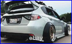 4 Pcs F+R Arch Carbon Effect 2.3 Wide Body Kit Fender Flares Extension For VW