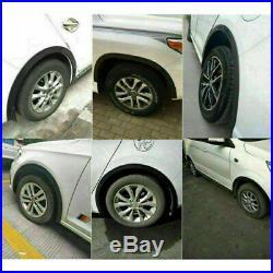 4pcs 1.5M3.8CM Car Wheel Eyebrow Arch Trim Fender Flares Protector Strips DIY