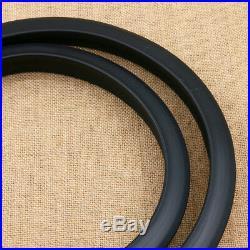 4pcs Black 1.5m Car Wheel Fender Extension Moulding Flares Trim Strip Edge SUV