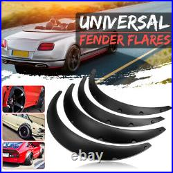 4x Universal 2/50mm + 2.75/70mm Fender Flares JDM Over Wide Body Wheel Arches