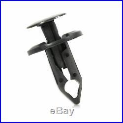60Pcs Clips fits for 8mm Hole Plastic Rivets Retainer Fender Bumper Push Pin