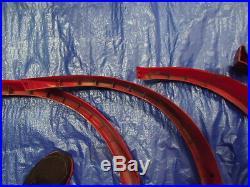 79 93 Vw Rabbit Golf Cabriolet Mk1 Oem Wheel Fenfer Moulding Arch Flare Set (4)