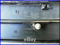 88-92 VW Golf Jetta Coupe MK2 LH & RH Rear Door Fender Trim Molding Rub Strip 5
