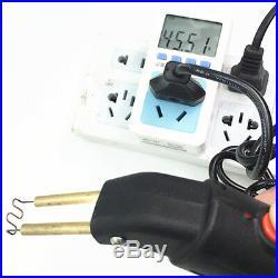 AC110-220V Car Bumper Welder Gun LED Hot Stapler Plastic Repair Tool&500Staples