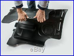Black Under Engine Splash Fender Guard MN For VW Golf 7 MK7 2014-2018