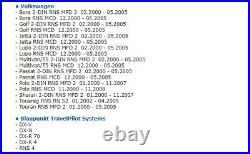 Blaupunkt Travelpilot CD Deutschland 2014 DX AUDI BNS4. X/ Plus 2-DIN RNS4. X Audi