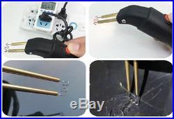 Car Bumper Hot Stapler Fairing Fender Welder Gun & Smoothing Iron Bumper Repair