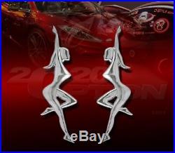 Dancing Girl Fender Trunk Tailgate Emblem For Golf Gti Jetta Tiguan C30 C70 S60