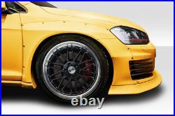 Duraflex / GTI TKO RBS 45mm Front Fender Flares 4 Piece for Golf Volkswagen