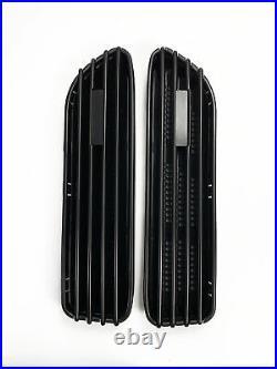 E46 M3 Style Matte Black Look Side Fender Grille Vent A P V W