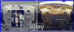 Engine Splash Guards Shield Mud Flaps Fenders For VW Golf 7 MK7 2014-2018 Gold