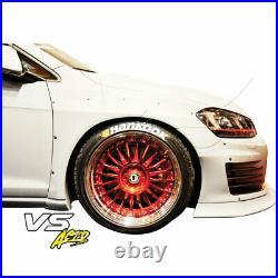 FRP TKYO Bunny Wide Body 45mm Flares (front) 4pc Fits Volkswagen Golf MK7 1