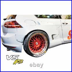 FRP TKYO Bunny Wide Body 70mm Flares (rear) 2pc Fits Volkswagen Golf MK7 15
