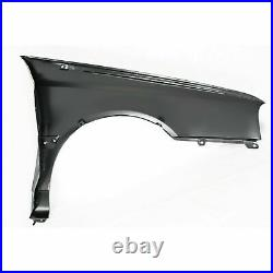 Fender Front LH Side WithO Antenna Hole With Molding Type Fits Golf VW1240107