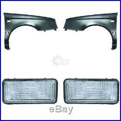 Fender Indicator Set (Right and Left) Volkswagen VW Golf III 91-95 1253408