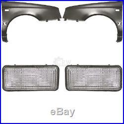 Fender Indicator Set Volkswagen VW Golf III 91-95 without Antenna Hole 1253407
