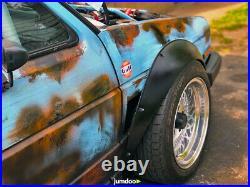Fender flares for Volkswagen Golf Mk1 & Mk2 JDM wide body kit ABS 90mm 3.5 4pcs