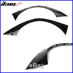 Fits 09-11 Volkswagen Golf GTi RB Style Rear Wide Body Fender Flares PU