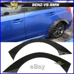 Fits 09-11 Volkswagen Golf GTi RB Style Rear Wide Body Fender Flares PU Urethane