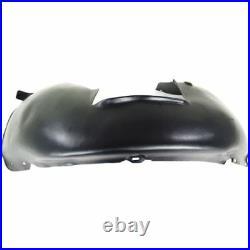 For Jetta 05-13, Front, Passenger Side Fender Splash Shield, Plastic