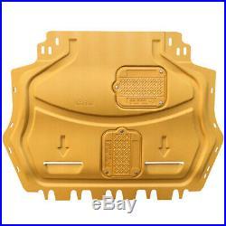 For VW Golf MK6 Engine Splash Guards Shield Mud Flap Fender 2010-2013 ais Yellow