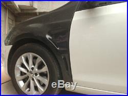 For Volkswagen VW Golf 6 MK6 2PCS Car Fender Flares Body kits Carbon Fiber 10-13