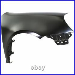 Front Fender RH Side Without Side Lamp Hole Fits Golf GTI Rabbit VW1241137