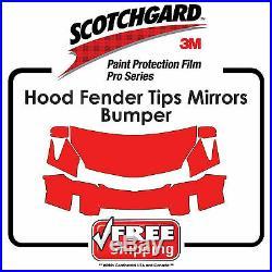 Kits For VW 3M 948 PRO SERIES Paint Protection Film Hood Fender Bumper Mir