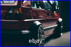 Kotflügelverbreiterung passend für VW Volkswagen Golf 2 II Kotflügel fenders