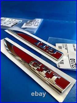 Logos Seitlich Golf Schriftzug Gti Original Chrom Rot Polo Gti 5G0853688AT Jzq