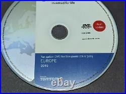 NAVIGATION DVD for BLAUPUNKT EX-V (VX) / EUROPE 2019 /Blaupunkt TravelPilot EX-V