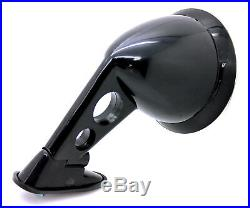 NEW JDM Style Black Fender Mount Side Mirrors PAIR / UNIVERSAL FIT Racing Mirror