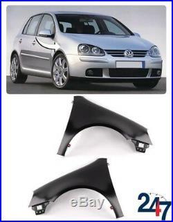 Neu Volkswagen VW Golf Mk 5 2003 2008 Vorne Flügel Fender Paar Set Links