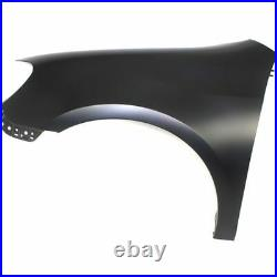 New CAPA Fender (Front, Driver Side) for Volkswagen Golf VW1240139C 2010 to 2013
