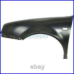New Front Left Fender Made Of Steel Fits 1999-2006 Volkswagen Golf Vw1240126