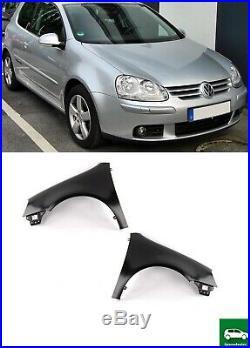New Front Wing Fender Pair Set N/s + O/s 2003 2008 For Volkswagen Vw Golf Mk 5