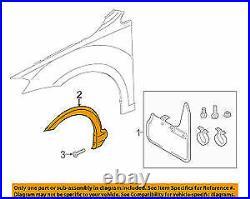 New Genuine VW GOLF Alltrack (17-18) Front N/S Left Fender Wheel Arch Cover OEM