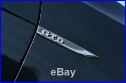 New Genuine Volkswagen Golf Mk7 Set Of Left And Right GTD Side Fender Badges OEM